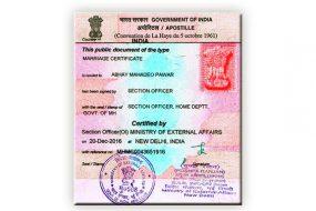Commercial and Degree Birth Certificate Apostille and Legalization Service in Vijayapura | Karnataka