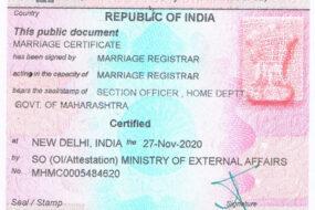 Apostille Certificates